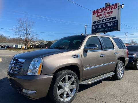 2011 Cadillac Escalade for sale at Unlimited Auto Group in West Chester OH