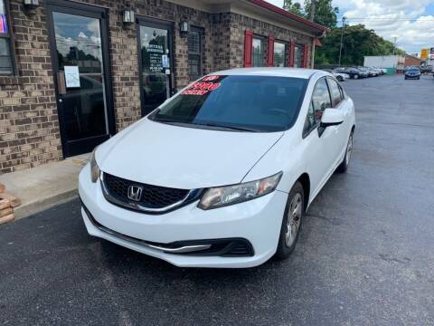 2013 Honda Civic for sale at Smyrna Auto Sales in Smyrna TN
