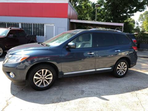 2014 Nissan Pathfinder for sale at Baton Rouge Auto Sales in Baton Rouge LA