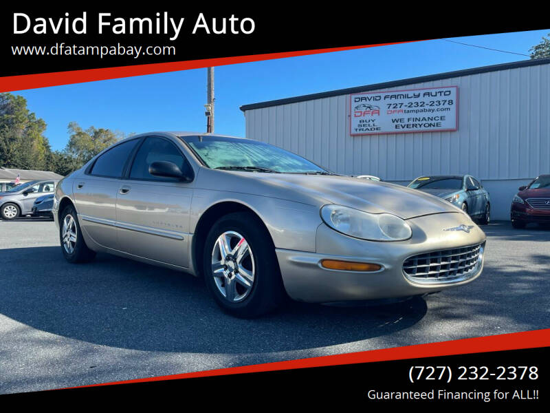 1999 Chrysler Concorde for sale at David Family Auto in New Port Richey FL