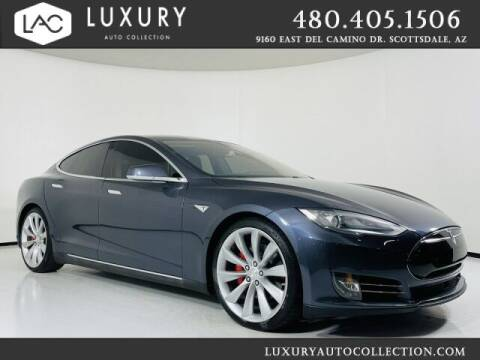 2015 Tesla Model S for sale at Luxury Auto Collection in Scottsdale AZ