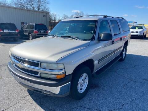2004 Chevrolet Suburban for sale at Brewster Used Cars in Anderson SC