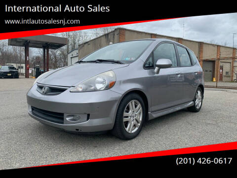 2007 Honda Fit for sale at International Auto Sales in Hasbrouck Heights NJ