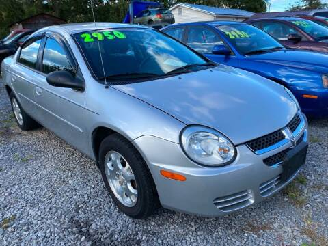 2005 Dodge Neon for sale at Rocket Center Auto Sales in Mount Carmel TN