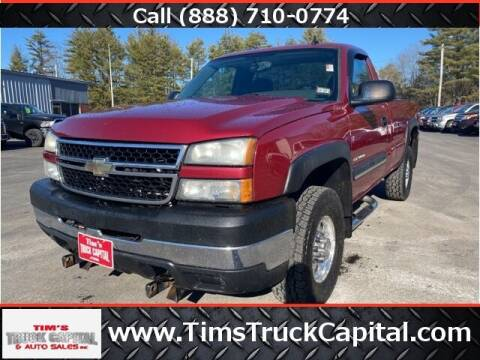 2006 Chevrolet Silverado 2500HD for sale at TTC AUTO OUTLET/TIM'S TRUCK CAPITAL & AUTO SALES INC ANNEX in Epsom NH