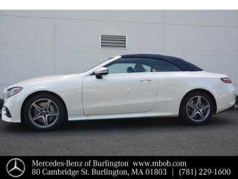 2019 Mercedes-Benz E-Class for sale at Mercedes Benz of Burlington in Burlington MA