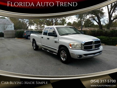2007 Dodge Ram Pickup 2500 for sale at Florida Auto Trend in Plantation FL
