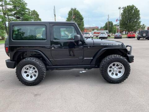 2017 Jeep Wrangler for sale at St. Louis Used Cars in Ellisville MO