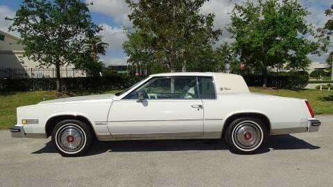 1983 Cadillac Eldorado for sale at Premier Luxury Cars in Oakland Park FL