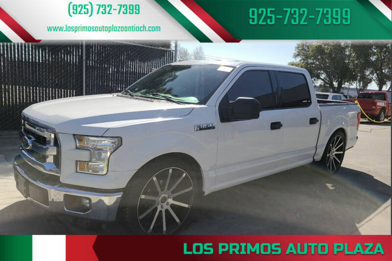 2016 Ford F-150 for sale at Los Primos Auto Plaza in Antioch CA