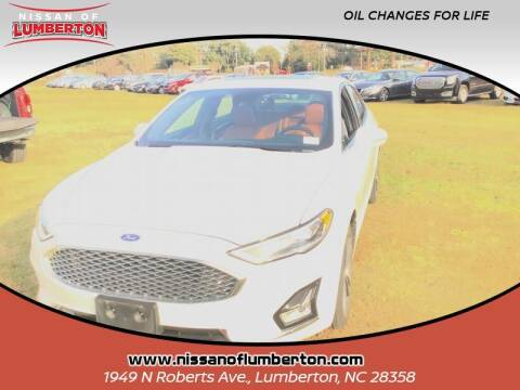 2020 Ford Fusion for sale at Nissan of Lumberton in Lumberton NC
