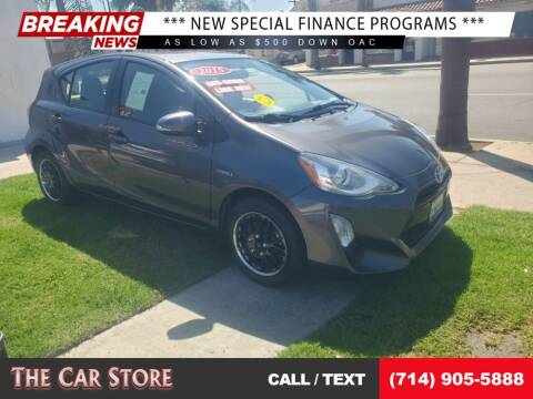 2015 Toyota Prius c for sale at The Car Store in Santa Ana CA