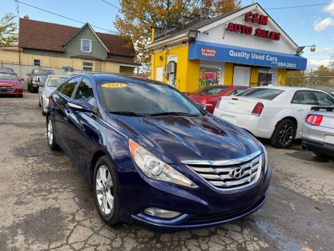 2011 Hyundai Sonata for sale at C & M Auto Sales in Detroit MI