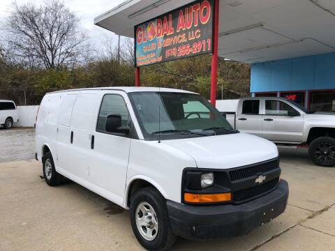 2006 Chevrolet Express Cargo for sale at Global Auto Sales and Service in Nashville TN