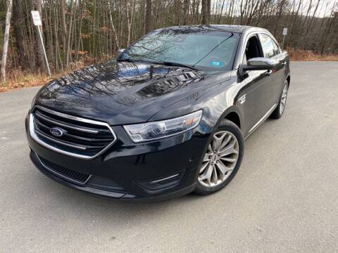 2018 Ford Taurus for sale at Granite Auto Sales in Spofford NH