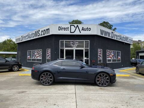 2014 Chevrolet Camaro for sale at Direct Auto in D'Iberville MS