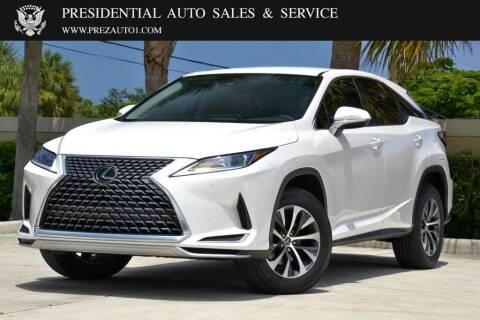 2020 Lexus RX 350 for sale at Presidential Auto  Sales & Service in Delray Beach FL