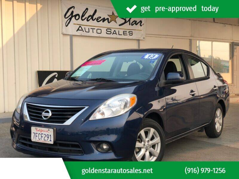 2013 Nissan Versa for sale at Golden Star Auto Sales in Sacramento CA