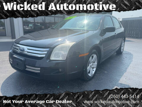 2007 Ford Fusion for sale at Wicked Automotive in Fort Wayne IN