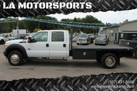 2014 Ford F-550 Super Duty for sale at LA MOTORSPORTS in Windom MN