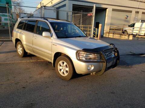 2001 Toyota Highlander for sale at O A Auto Sale in Paterson NJ