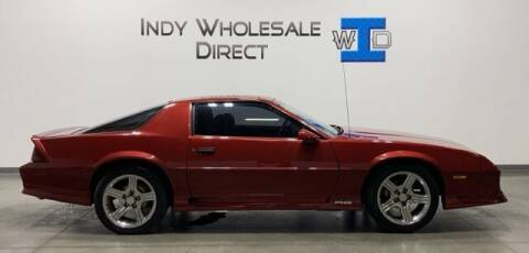 1992 Chevrolet Camaro for sale at Indy Wholesale Direct in Carmel IN