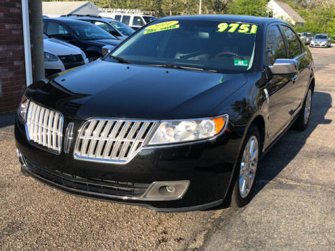 2011 Lincoln MKZ Hybrid for sale at MBM Auto Sales and Service - Lot A in East Sandwich MA