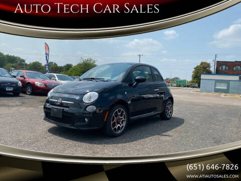 2012 FIAT 500 for sale at Auto Tech Car Sales in Saint Paul MN