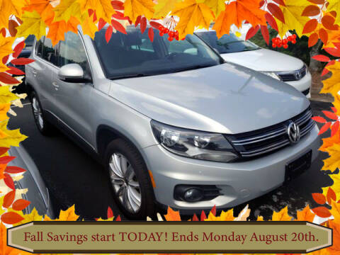 2013 Volkswagen Tiguan for sale at Southern Star Automotive, Inc. in Duluth GA