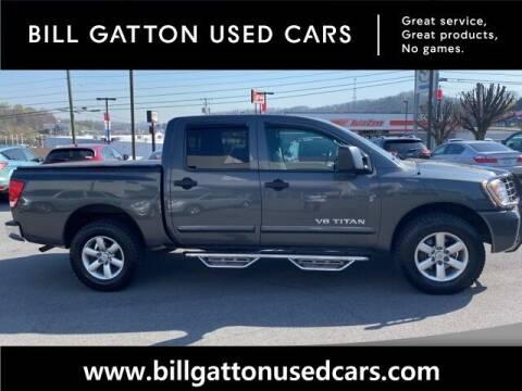 2012 Nissan Titan for sale at Bill Gatton Used Cars in Johnson City TN