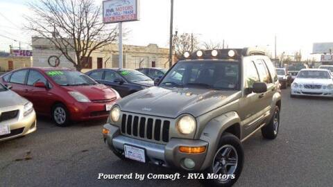 2003 Jeep Liberty for sale at RVA MOTORS in Richmond VA