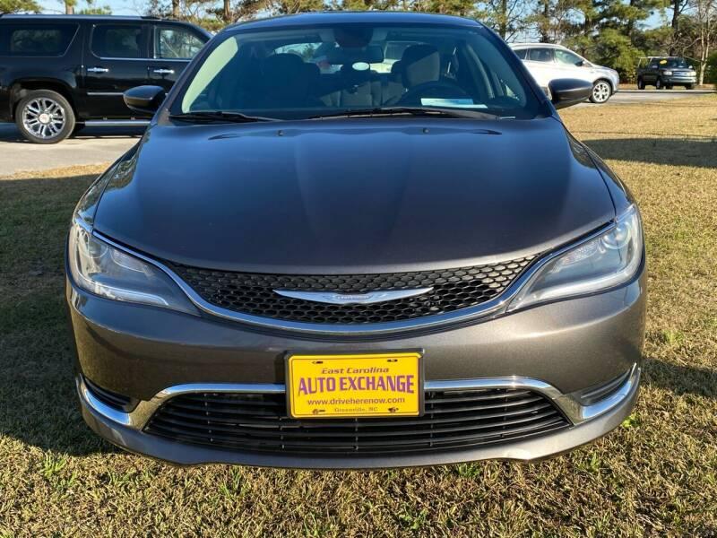 2015 Chrysler 200 for sale at Washington Motor Company in Washington NC