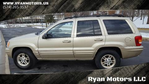 1999 Jeep Grand Cherokee for sale at Ryan Motors LLC in Warsaw IN