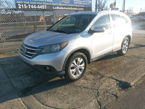 2014 Honda CR-V for sale at LaBate Auto Sales Inc in Philadelphia PA