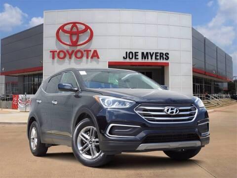 2018 Hyundai Santa Fe Sport for sale at Joe Myers Toyota PreOwned in Houston TX