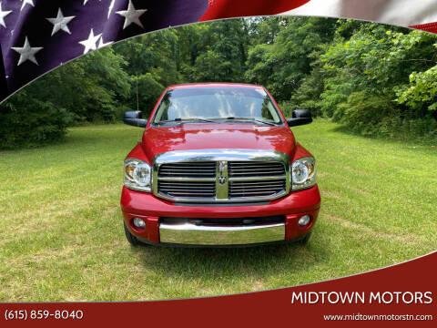 2008 Dodge Ram Pickup 1500 for sale at Midtown Motors in Greenbrier TN