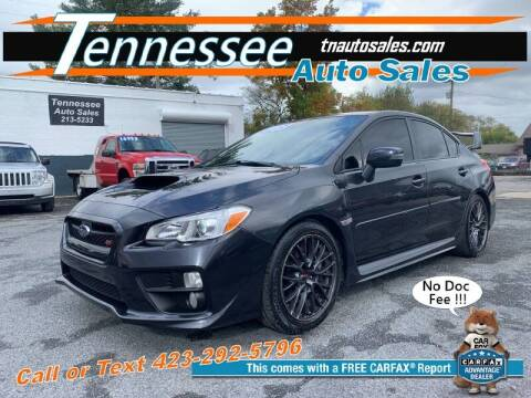 2017 Subaru WRX for sale at Tennessee Auto Sales in Elizabethton TN