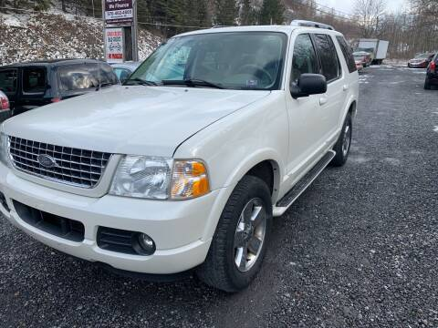 2003 Ford Explorer for sale at JM Auto Sales in Shenandoah PA