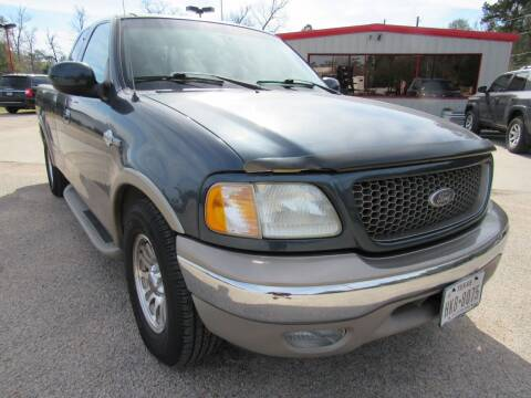 2002 Ford F-150 for sale at Park and Sell in Conroe TX