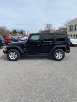 2008 Jeep Wrangler Unlimited for sale at Karz INC in Funkstown MD