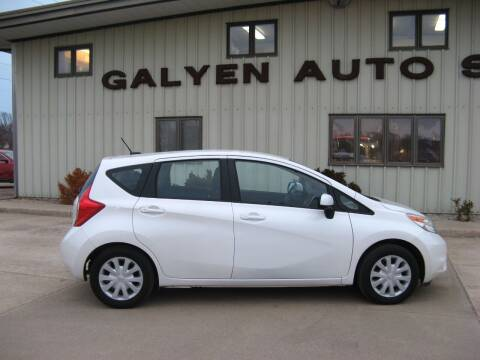 2014 Nissan Versa Note for sale at Galyen Auto Sales Inc. in Atkinson NE
