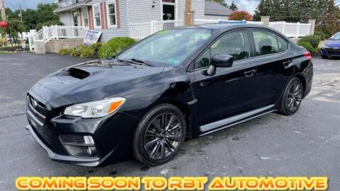 2015 Subaru WRX for sale at RBT Automotive LLC in Perry OH