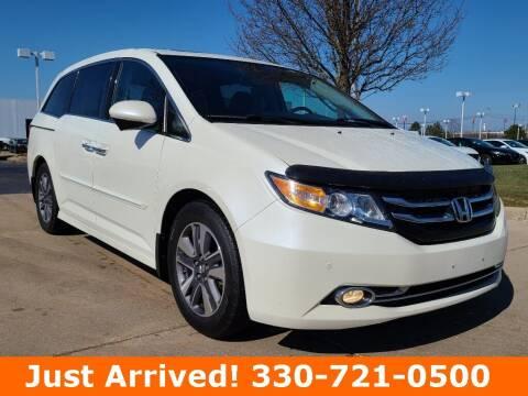 2017 Honda Odyssey for sale at Ken Ganley Nissan in Medina OH