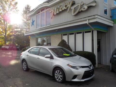 2014 Toyota Corolla for sale at Nicky D's in Easthampton MA