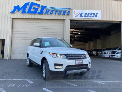 2014 Land Rover Range Rover Sport for sale at MGI Motors in Sacramento CA