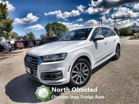2017 Audi Q7 for sale at North Olmsted Chrysler Jeep Dodge Ram in North Olmsted OH