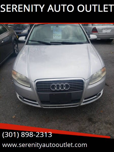 2006 Audi A4 for sale at SERENITY AUTO OUTLET in Frederick MD