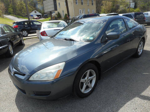 2003 Honda Accord for sale at Sleepy Hollow Motors in New Eagle PA