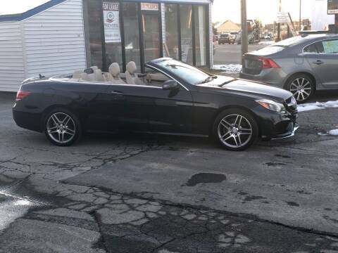 2016 Mercedes-Benz E-Class for sale at HYANNIS FOREIGN AUTO SALES in Hyannis MA