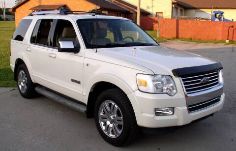 2007 Ford Explorer for sale at Angelo's Auto Sales in Lowellville OH